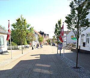 Hadsund - Image: Hadsunds gågade 24. juli 2014