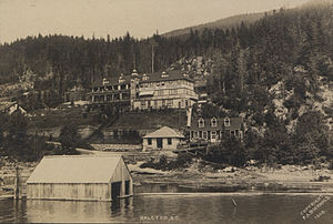 Halcyon Hot Springs, British Columbia - Halcyon Hot Springs, 1908, F.A. Bucholz photog.