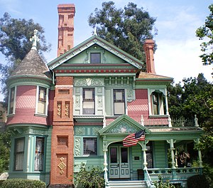 Heritage Square Museum - Hale House, Heritage Square Museum, Los Angeles.