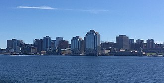 Downtown Halifax - Downtown Halifax as from Halifax Harbour