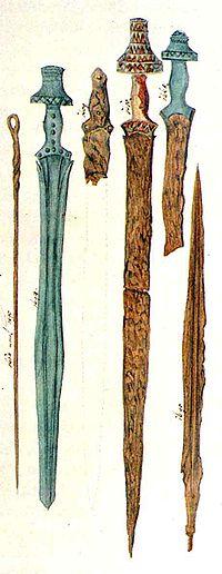 Hallstatt culture swords ramsauer.jpg