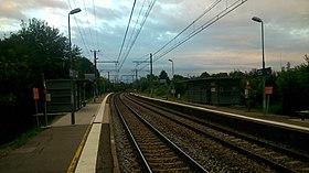 La ligne F à la halte de Labège-Village