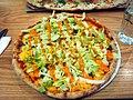 Hamburger pizza at Kotipizza.jpg