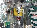 Handball trophy cabinet at Museum Mundo Sporting.JPG
