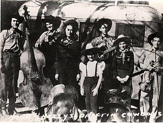 Drifting Cowboys - Image: Hank Williams and the Driftin' Cowboys, 1938