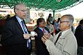 Hans-Martin Hinz and Saroj Ghose - Science City - Kolkata 2014-02-13 2252.JPG