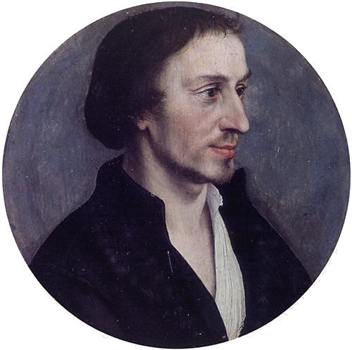 Hans Holbein the Younger - Philipp Melanchthon (Lower Saxony State Museum)