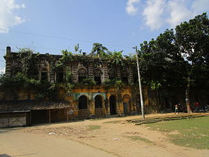 Thakurgaon District - The Backside of Haripur kingpalace
