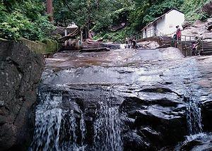Harishankar Temple - a stream at Harishankar Temple
