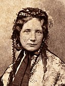 Harriet Beecher Stowe c1852