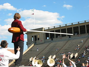 Harvard University Band - The HUB's then-largest baton
