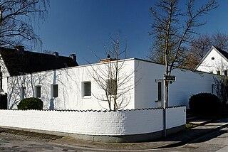 Casa estudio Schwippert, Düsseldorf-Golzheim (1955)