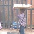 Hawking of beverage and bread local itoku market 03.jpg