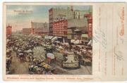 Haymarket Square, Chicago Circa 1905 (front)
