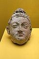 Head of Buddha, polychromed stucco, Mes Aynak, 3rd-6th century CE, 165086.jpg