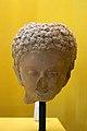 Head of Buddha, potery, Mes Aynak, 4th-7th century CE, 165081.jpg