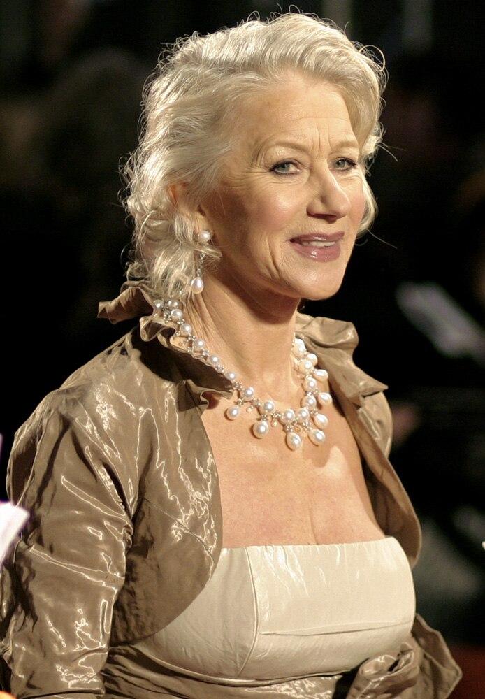 Helen Mirren at the Orange British Academy Film Awards