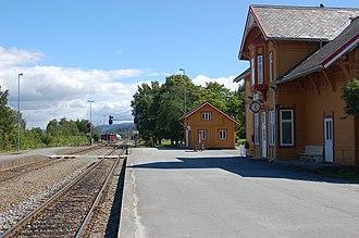 Hell Station - Hell Station platforms. Photo: Alasdair McLellan