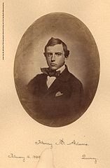 Henry Brooks Adams, Harvard graduation photo, 1858.jpg