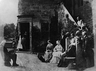 Henry Cockburn, Lord Cockburn - Henry Cockburn, Lord Cockburn, his family, David Octavius Hill and John Henning by Robert Adamson, 1840s.