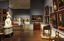The Henry Hunter gallery in the Tasmanian Museum and Art Gallery