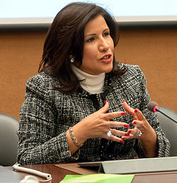 Her Excellency Ms. Margarita Cedeño de Fernández, Vice-President of the Dominican Republic (8957848699)-edit.jpg