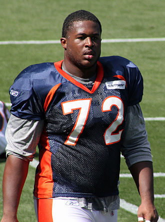 Herb Taylor (American football) - Taylor at a scrimmage in 2011.