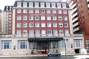 4th Summit of the Americas - Hermitage Hotel, venue for the 2005 summit