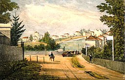 Herne Hill and Half Moon Lane in 1823.jpg