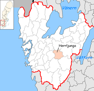 Herrljunga Municipality Municipality in Västra Götaland County, Sweden
