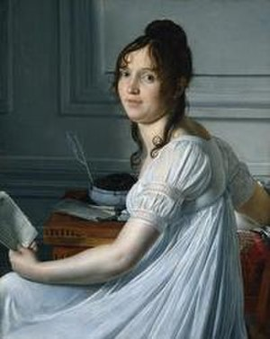 Louis Hersent - Image: Hersent, Louis, portrait de Sophie Crouzet
