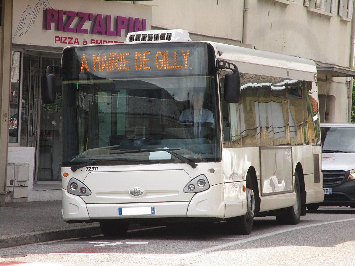 Liste des lignes de bus d 39 albertville wikip dia for Horaires bus ligne 29 arles salon