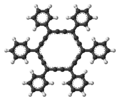 Hexaphenyl-dodecadehydro(18)annulene molecule ball.png