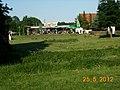 Hier zapft der Chef selbst auch Weizen vom Fass ( Barre Weissbier) - panoramio.jpg