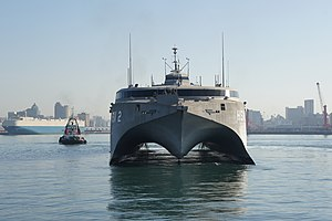 High Speed Vessel (HSV) 2 Swift pulls into Durban Harbor.jpg