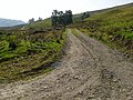 Hill track joining minor road in Glen Buckie - geograph.org.uk - 48881.jpg