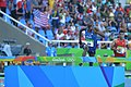 Hillary Bor runs to an eighth-place finish in the men's 3,000-meter steeplechase at the 2016 Olympic Games.jpg