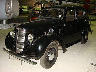 Hillman Minx - RAF staff car
