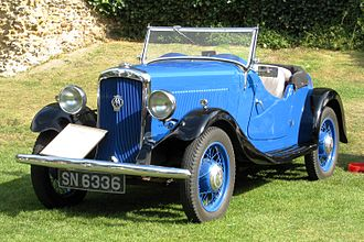 Carbodies - Hillman Minx sports tourer 1934