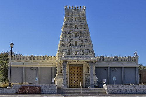List of Hindu temples in the United States - Wikiwand