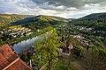 Hirschhorn (Neckar) - Burg Hirschhorn - Blick vom Bergfried nach Süden.jpg