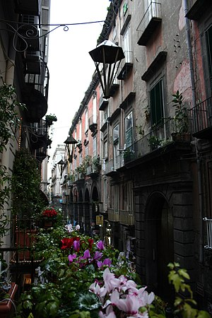 Historic center of Naples - Italy