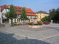 Hofheim in Unterfranken Marktplatz.JPG