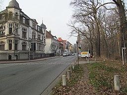 Hohenzollernstraße in Hannover