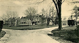 Dr. Holbrook's Military School - Dr. Holbrook's Military School, c. 1900