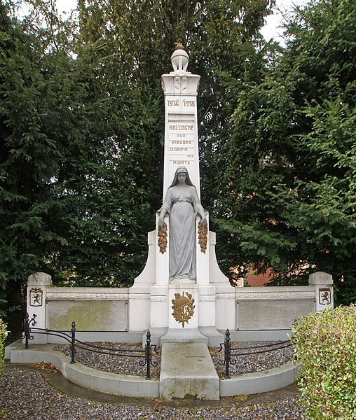 Grâce-Hollogne (Belgium): Memorial for the fallen in the first world war
