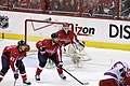 Holtby and Alzner Ready for Faceoff (6991848902).jpg