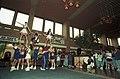Homecoming with University of Texas at Arlington cheerleaders (10010669).jpg