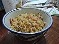 Homemade fried rice for dinner.jpg