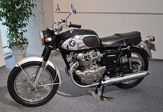 Honda CB450 motorcycle